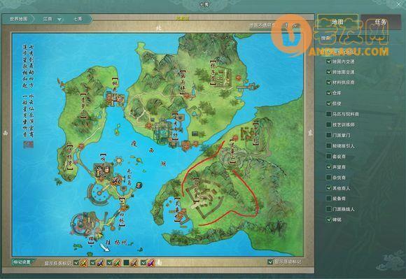 剑网3重置版七秀门派跟宠任务图文攻略